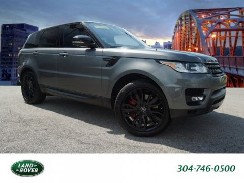 Certified Pre-Owned 2017 Land Rover Range Rover Sport Dynamic